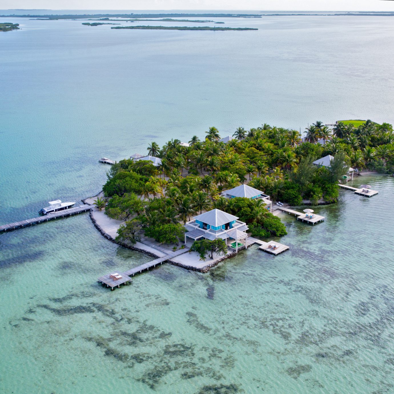 Island with Cayo Espanto Resort
