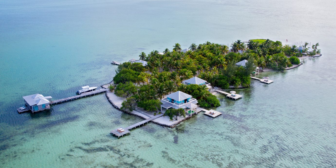 Island with Cayo Espanto Resort
