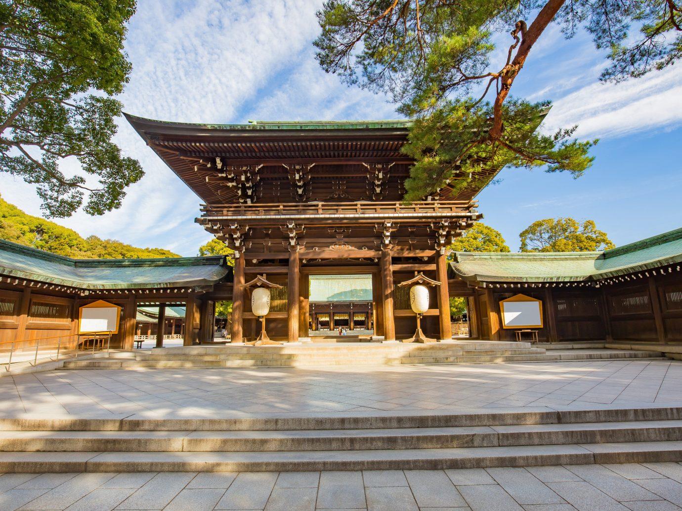 Temple in Tokyo Japan