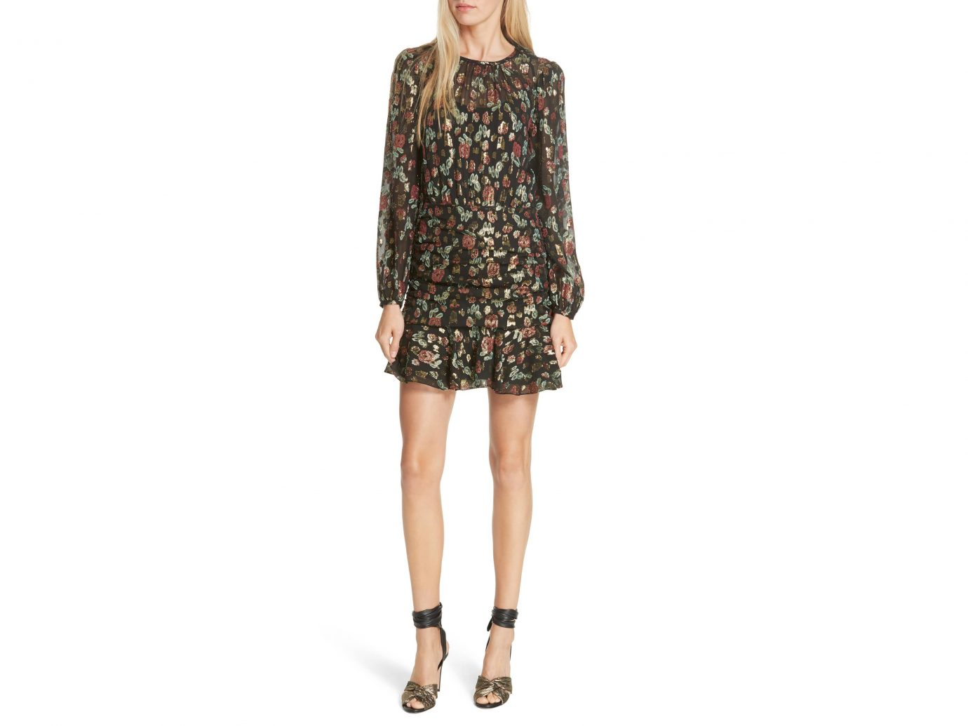 Veronica Beard Robin Silk Blend Jacquard Minidress