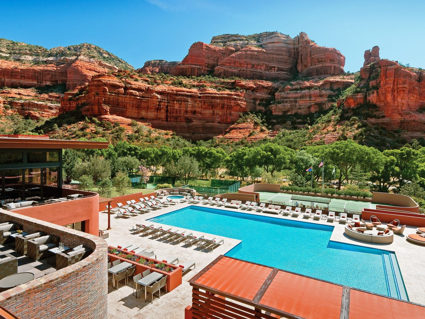 Pool at Enchantment Resort, Sedona