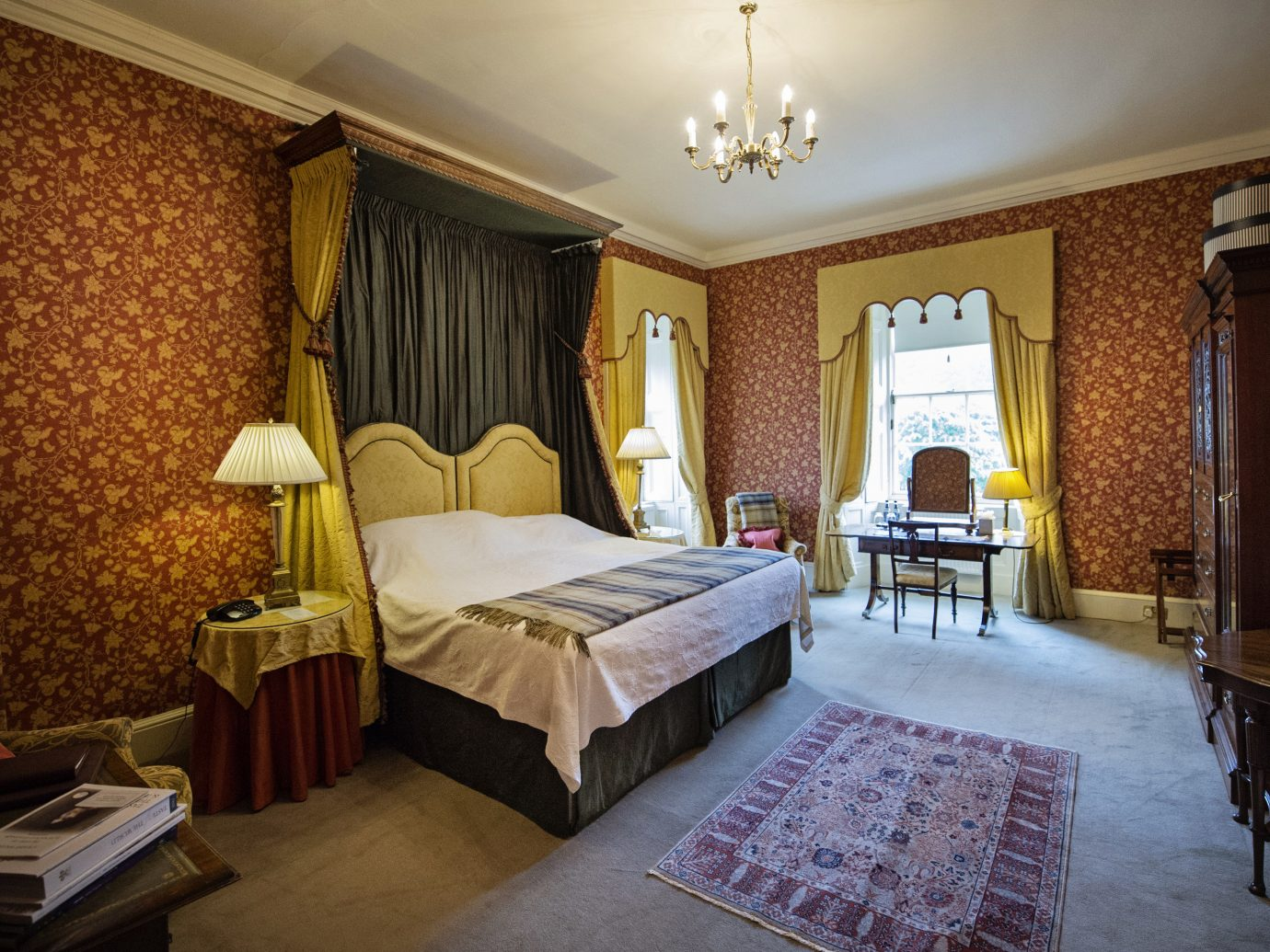 Bedroom at Glenapp Castle