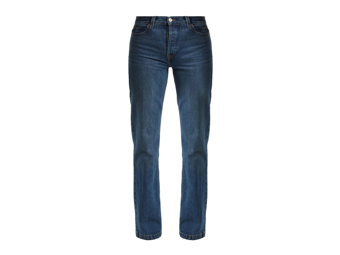 RE/DONE ORIGINALS High-rise straight-leg jeans