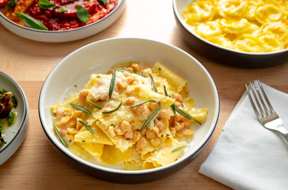 chickpea pappardelle from Misi