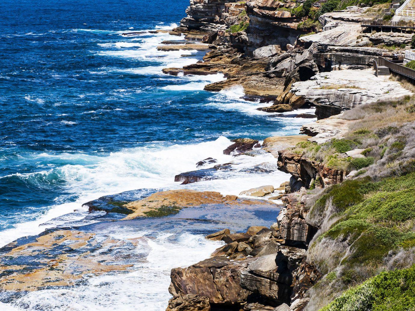 Rocks in Coogee Beach, Australia