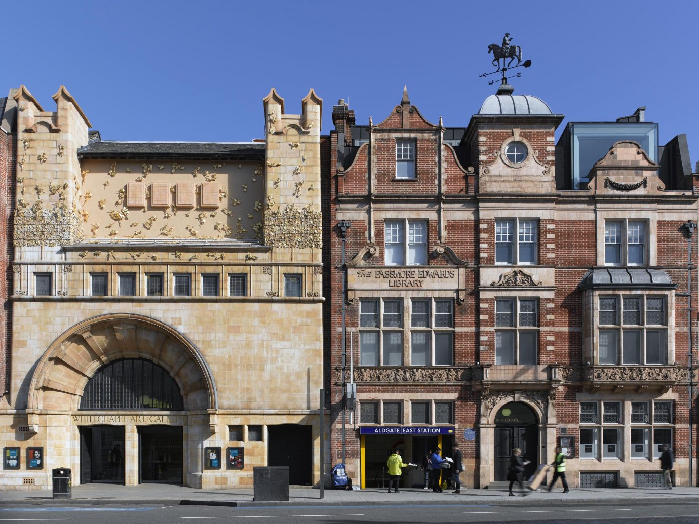 Whitechapel Gallery facade