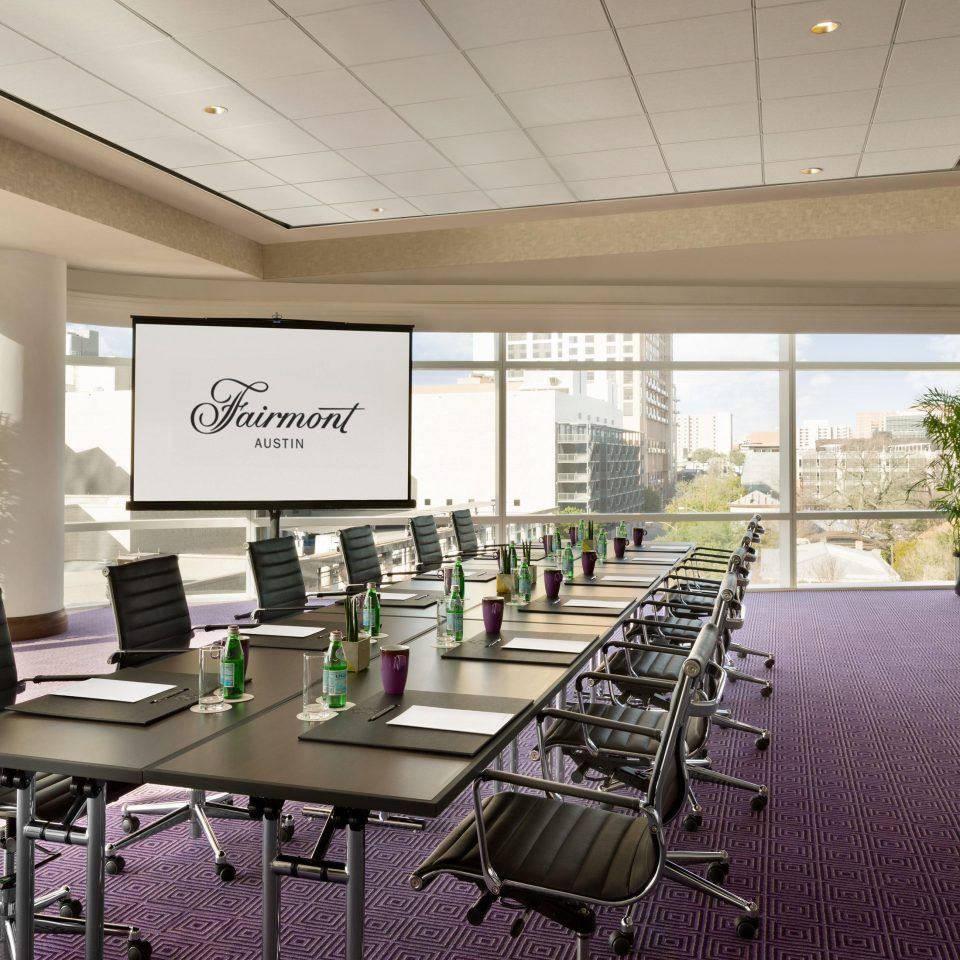 Conference room at Fairmont Austin