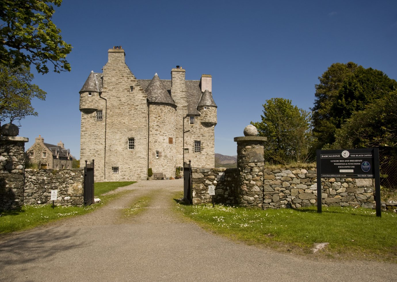 View of Barcaldine castle