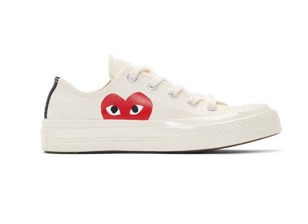 COMME DES GARÇONS PLAY Women's Chuck Taylor 1970s Low-Top Sneakers