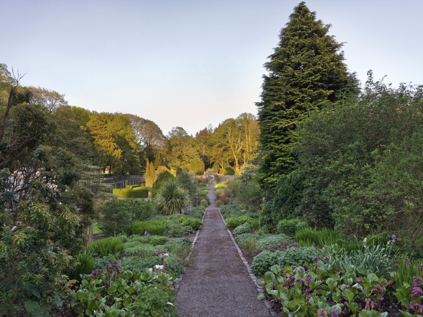 Garden at Glenapp Castle