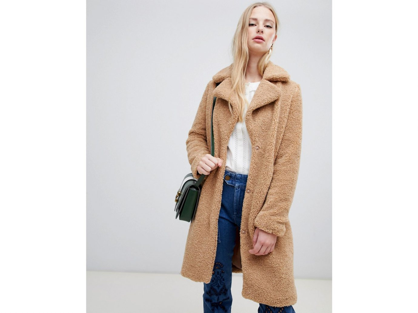 Teddy Coat: Vero Moda Teddy Coat