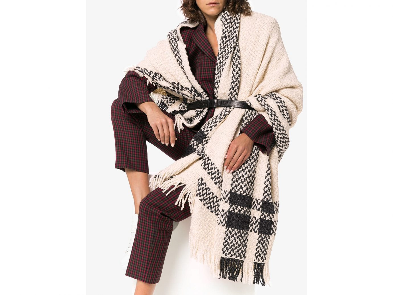 AESSAI Grace Knitted Blanket Scarf