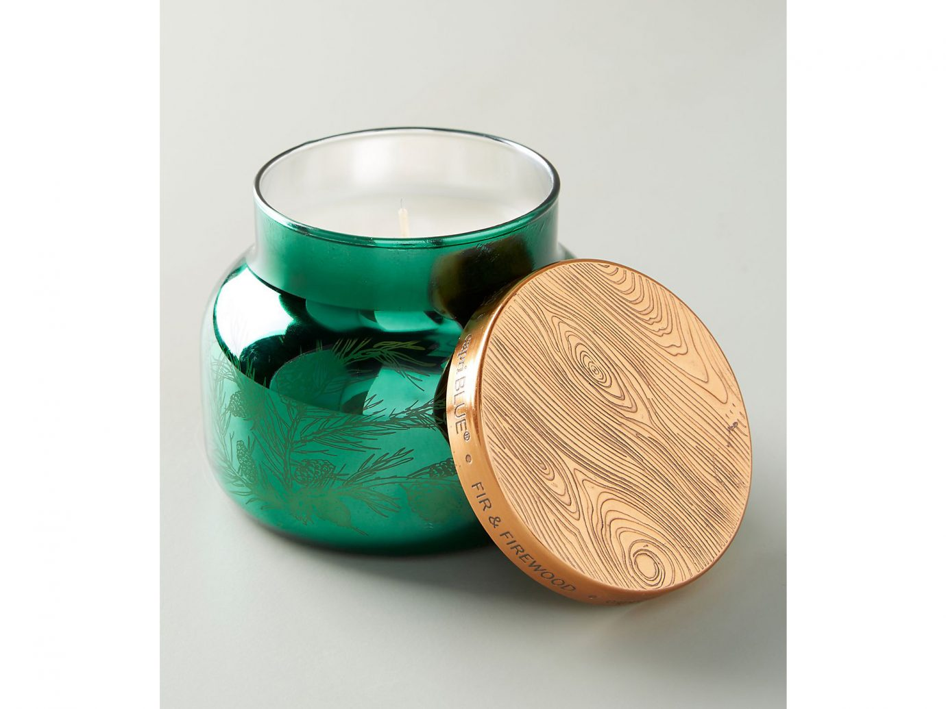 Candle: Capri Blue Fir & Firewood Jar Candle