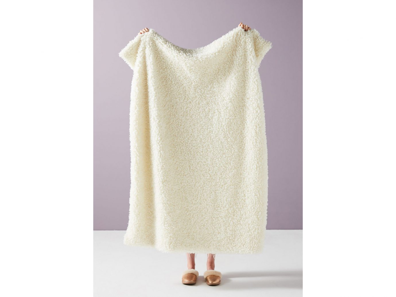 Blanket: Anthropologie Fuzzy Faux Fur Throw