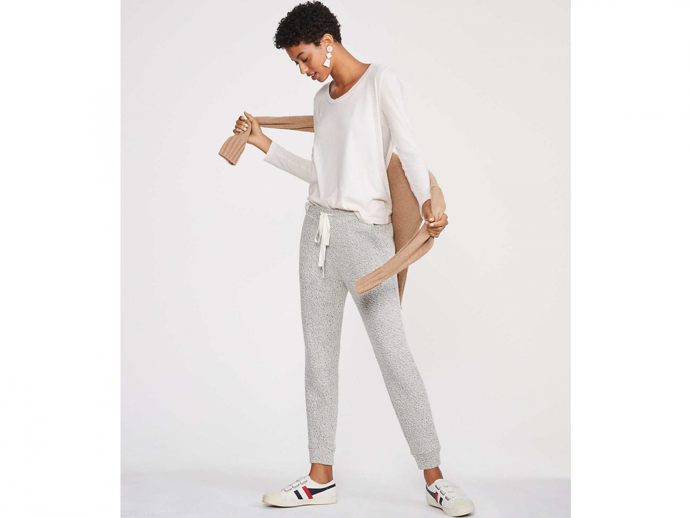 Elevated Sweatpants: Lou & Grey Ridged Upstate Sweatpants