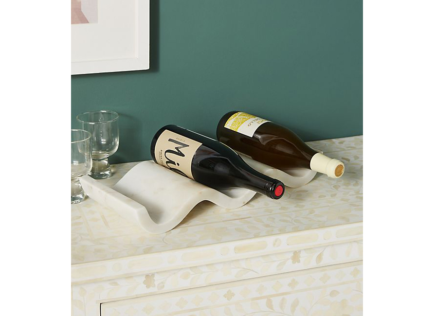 Robin Marble Wine Holder