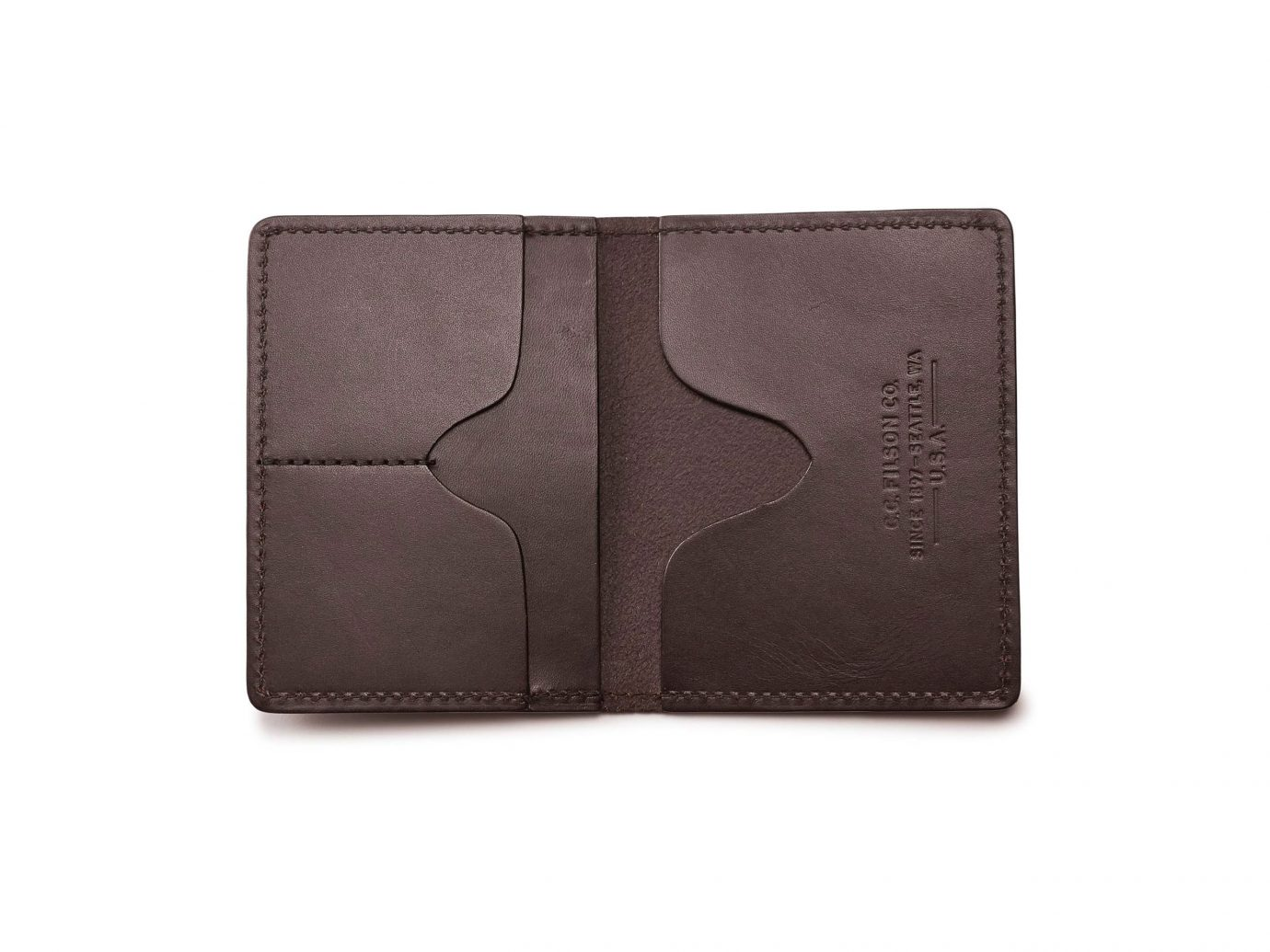 Filson Leather Passport Case