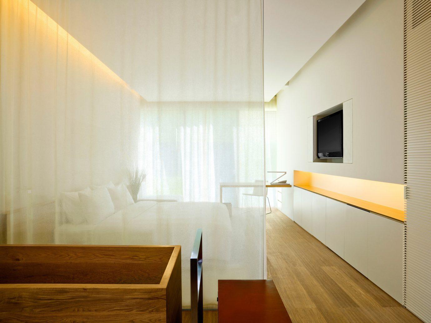 Bedroom at The Opposite House in Beijing