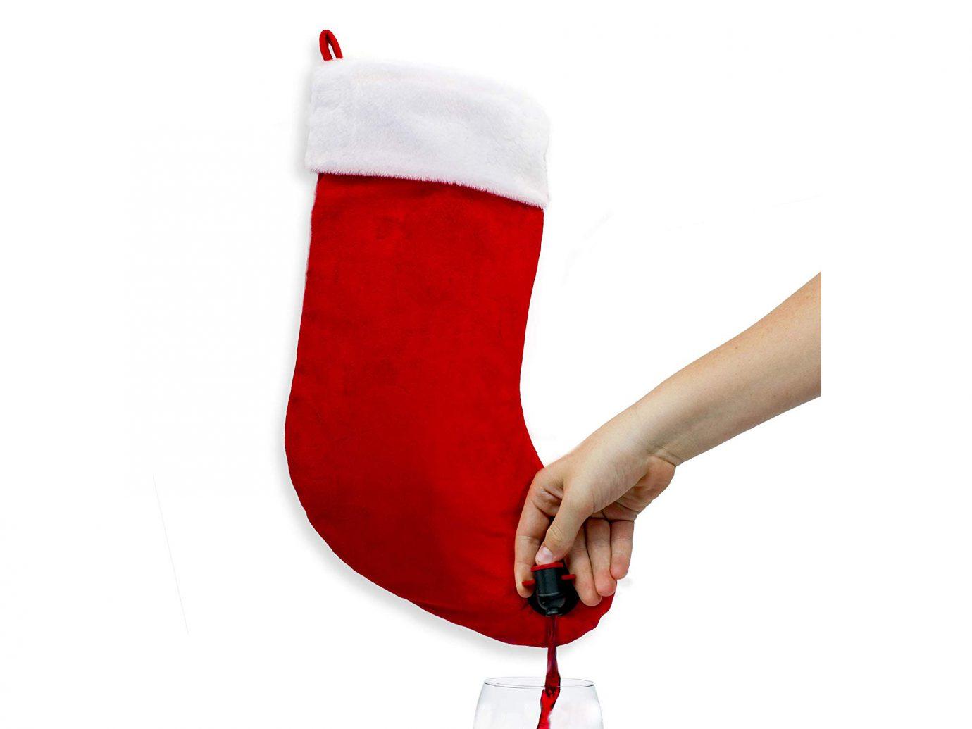 Sneeky Santas Wine Stocking Flask