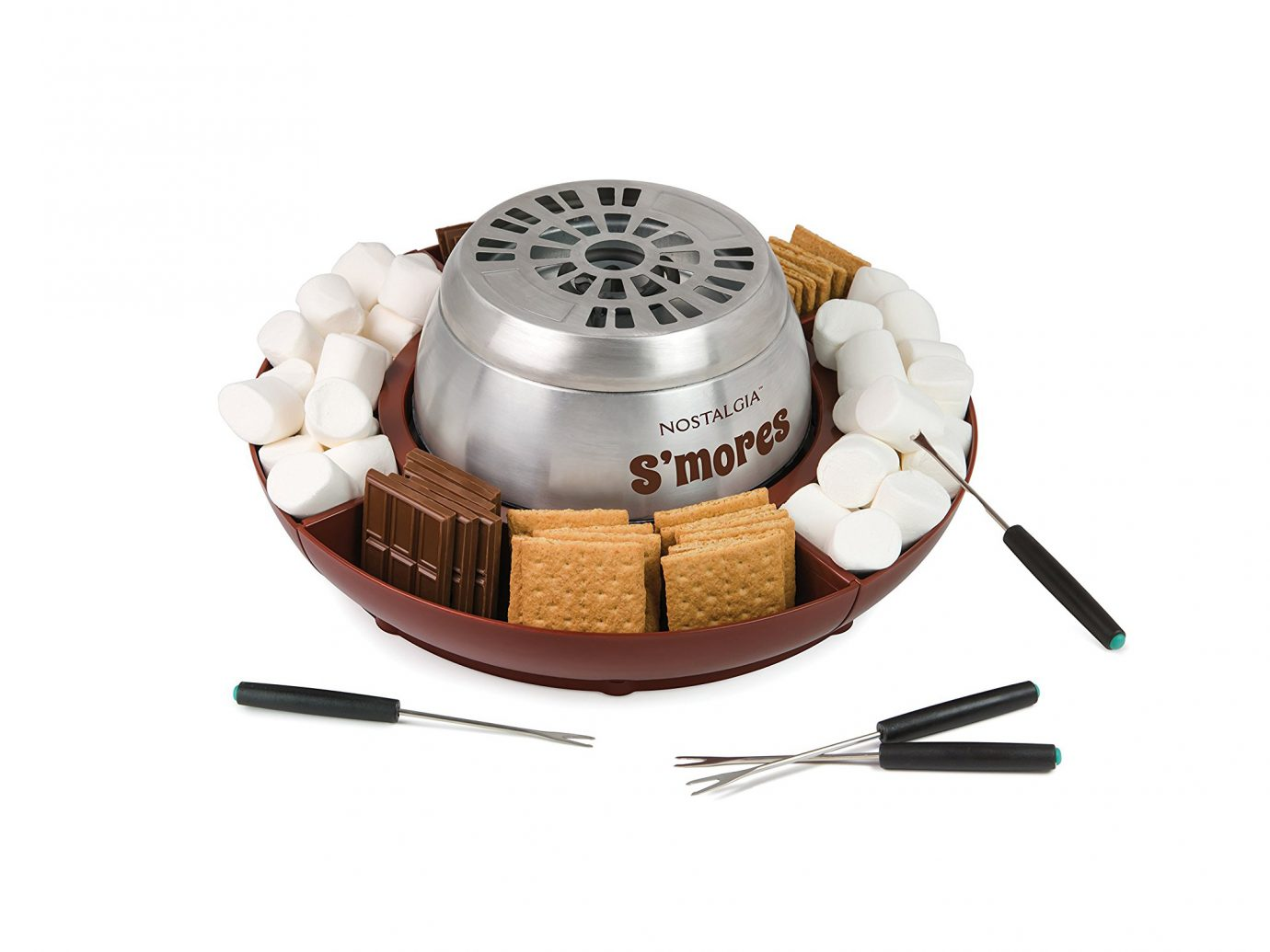 S'mores Maker: Nostalgia LSM400 Electric S'mores Maker