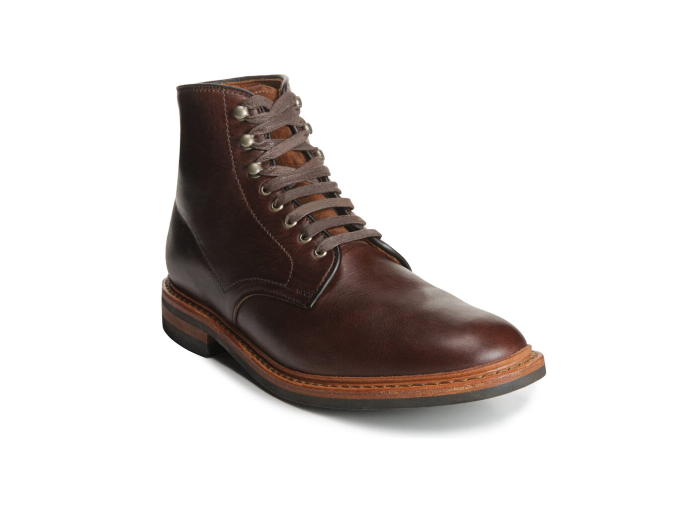 Allen Edmonds Higgins Mill Plain Toe Boot