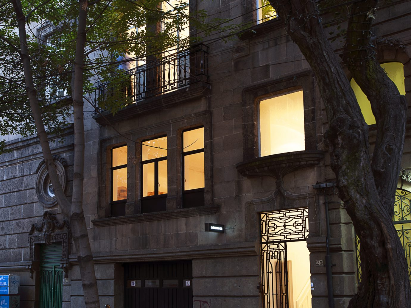 Exterior of Casa Bosques