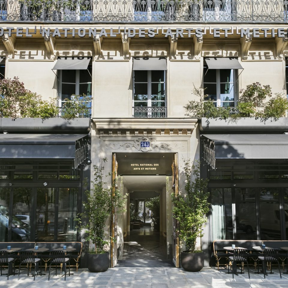 Front entrance of Hotel National des Arts et Métiers