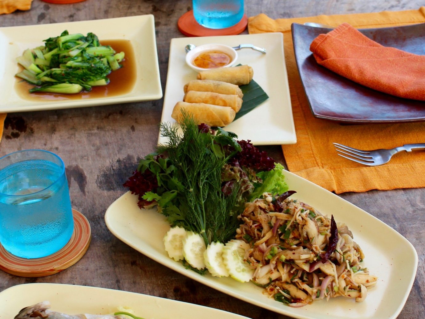 Meal at Soneva Kiri Resort, Thailand