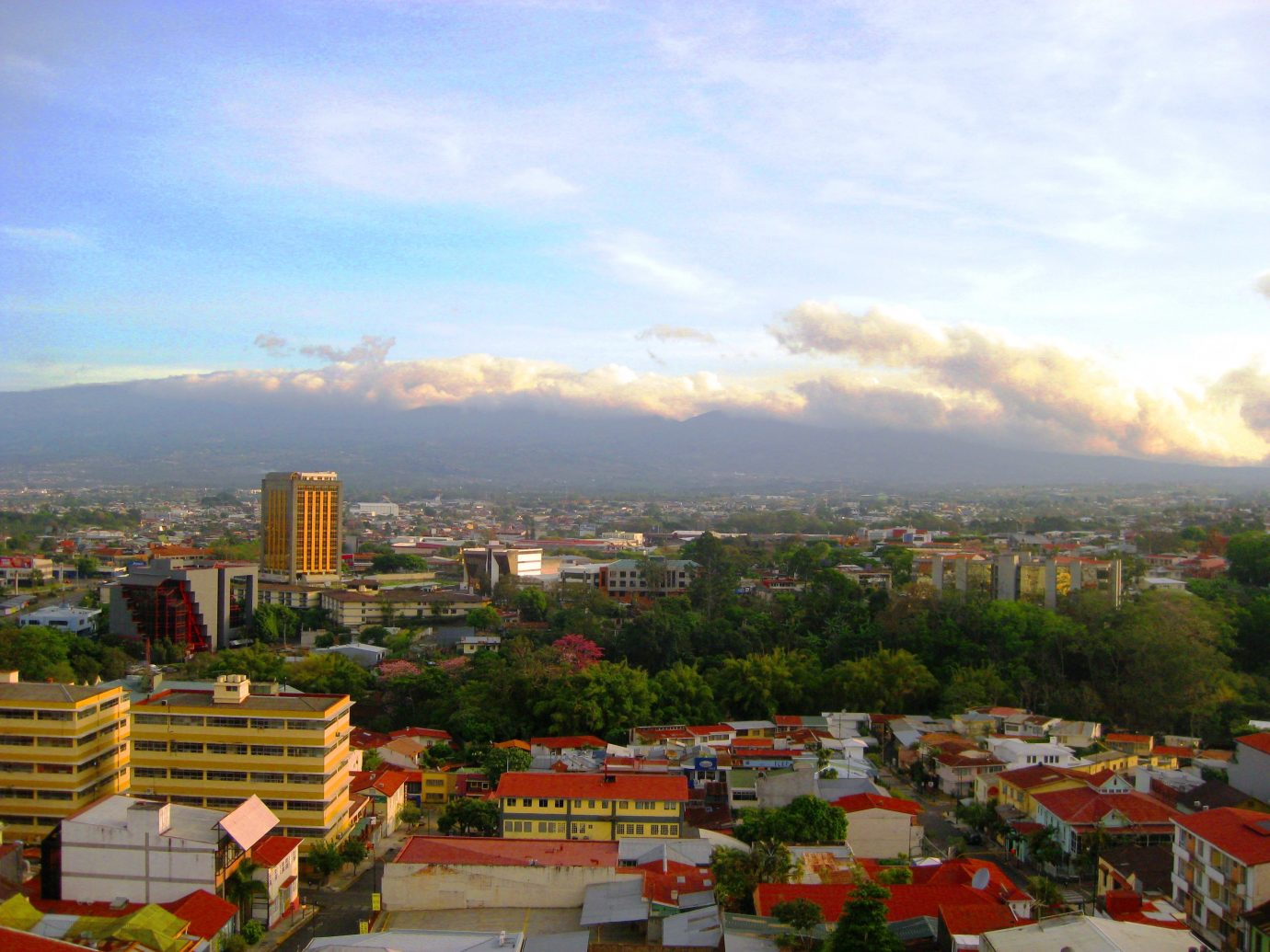 Cityscape of San José in Costa Rica