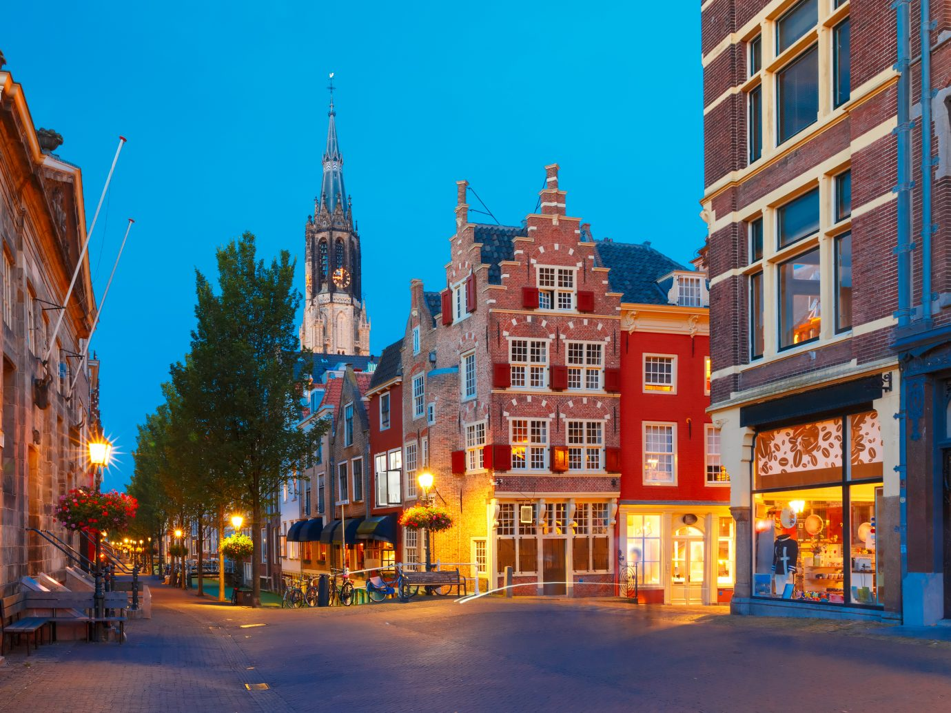 Nieuwe Kerk in Delft, Holland, Netherlands