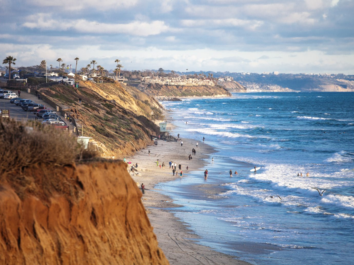 Coastal view South Ponto Beach, Carlsbad, California