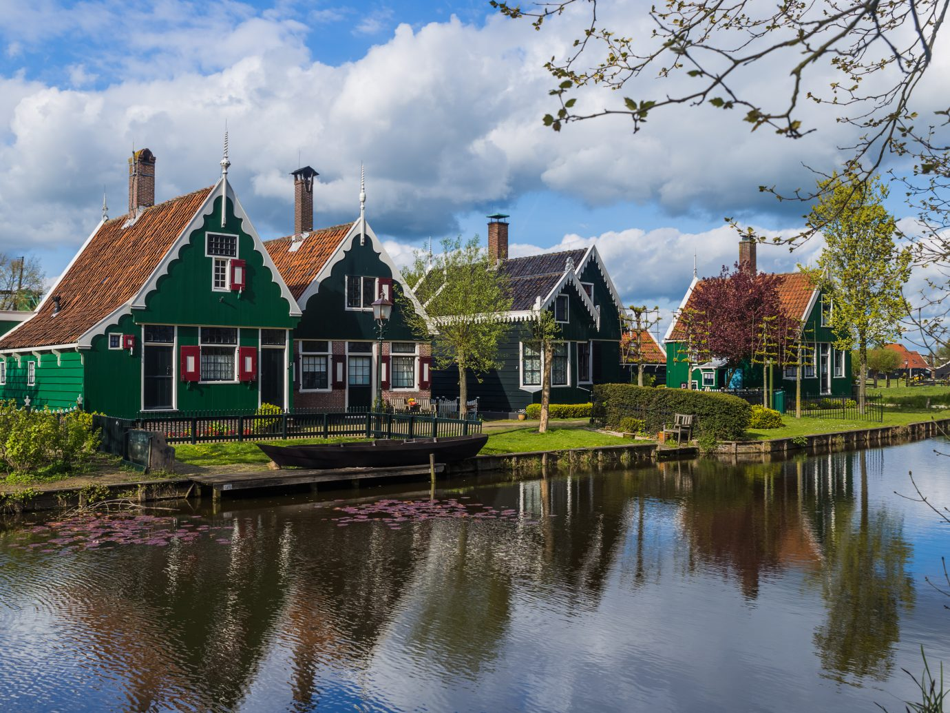 Village Zaanse Schans in Netherlands