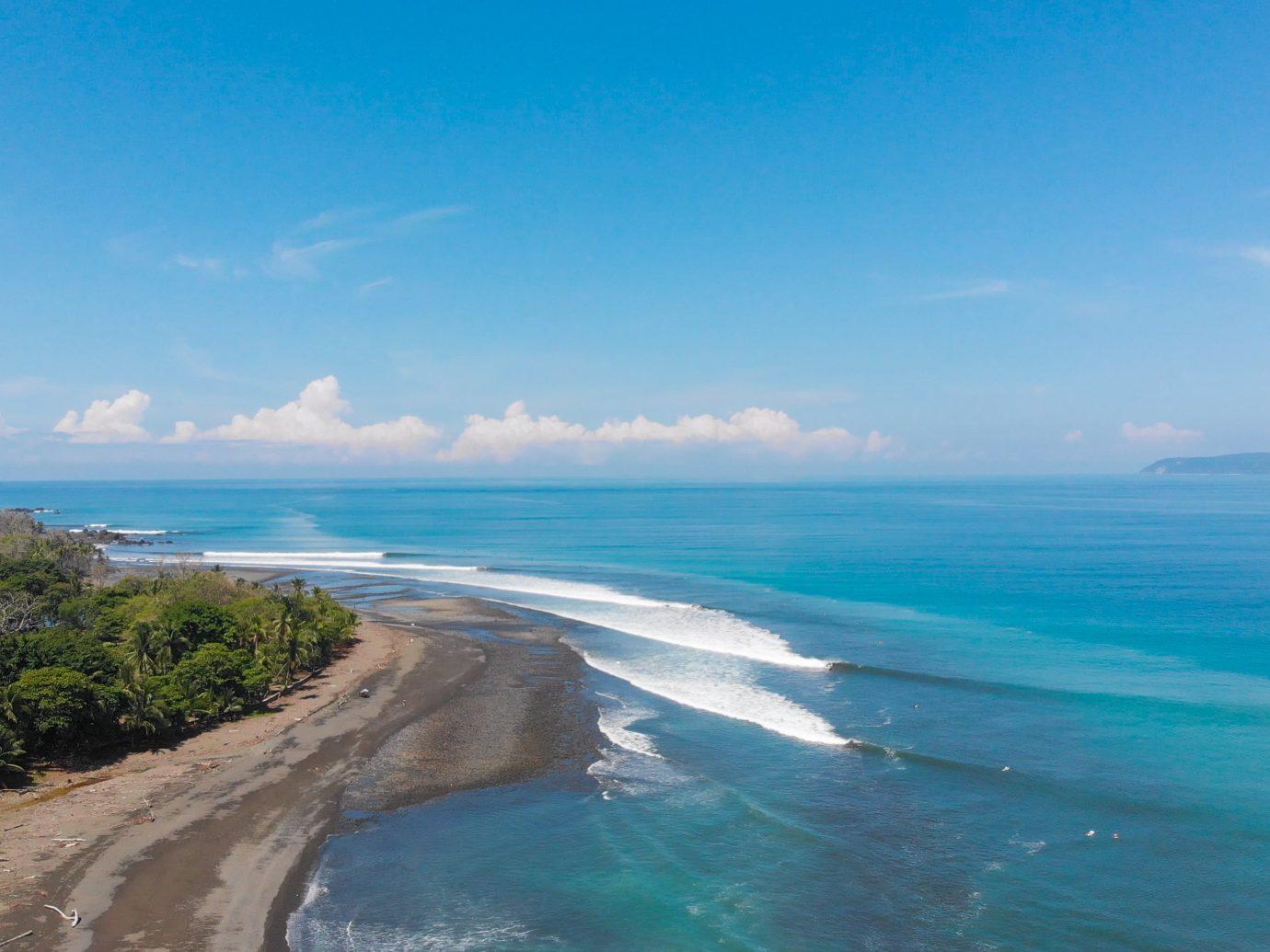 Pavones surfbreak, the 2nd longest left in the world