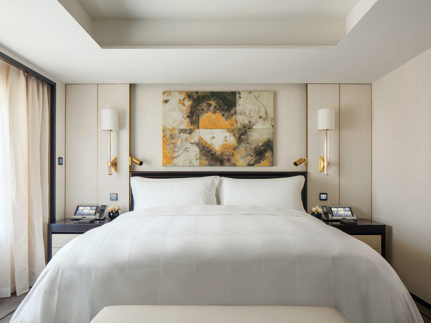 bedroom at the Peninsula Beijing