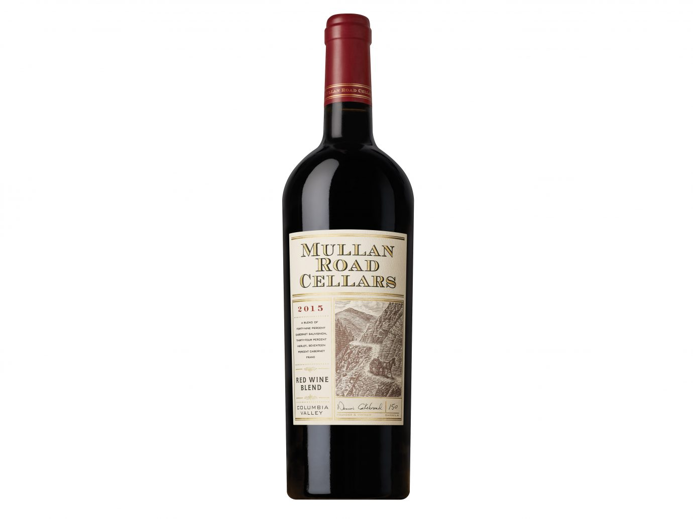 Mullan Road Cellars 2015 Red Wine Blend copy