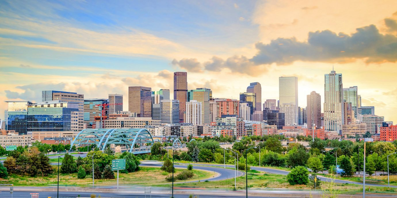 Skyline of Denver Colorado