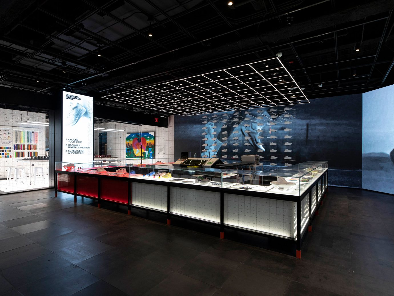 Nike NYC flagship interior