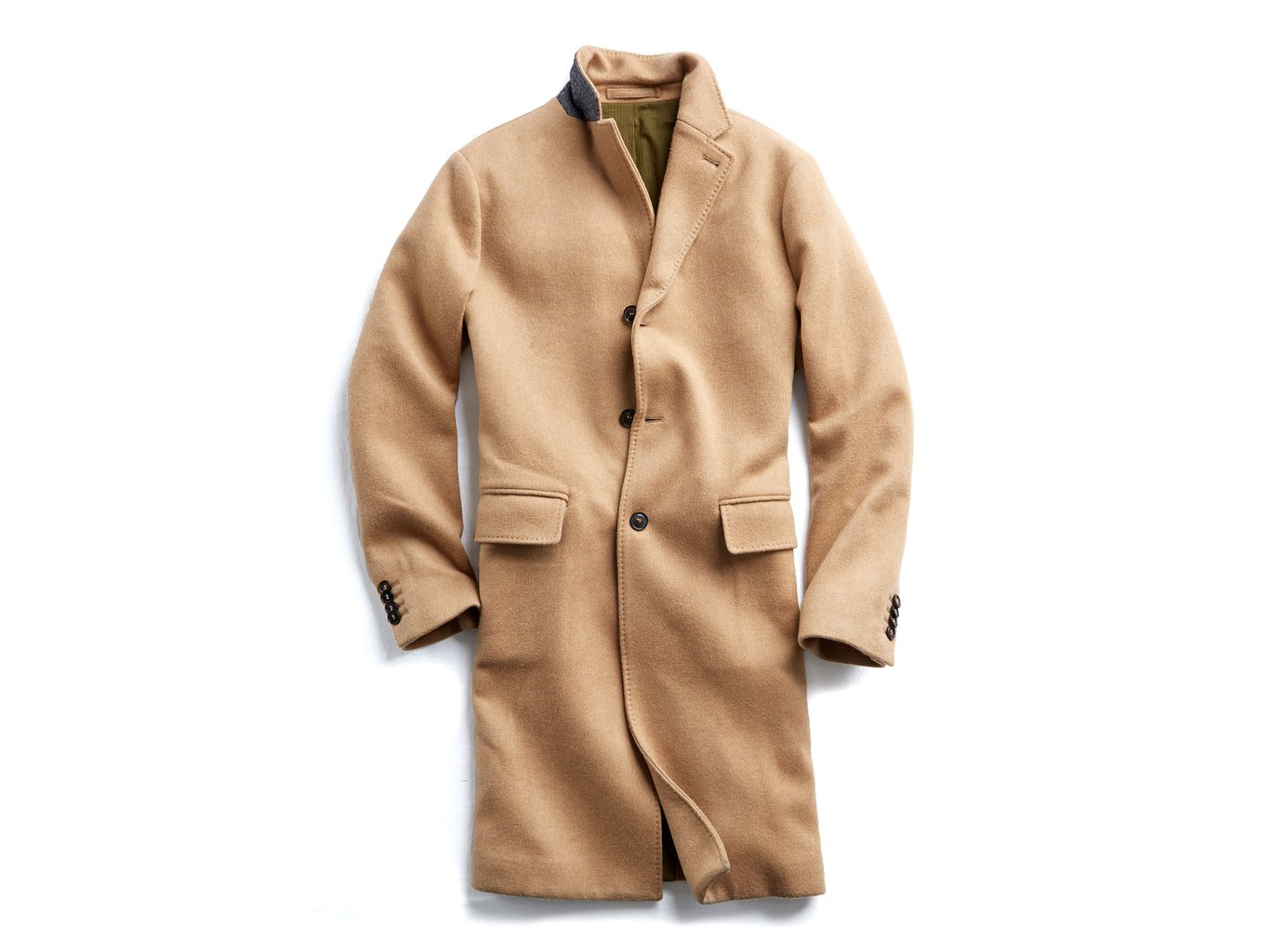 Todd Snyder ITALIAN WOOL CASHMERE CAMEL TOPCOAT