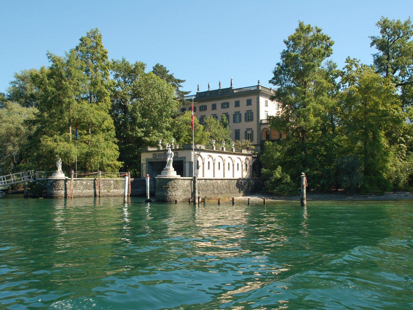 Brissago Islands in Lake Maggiore