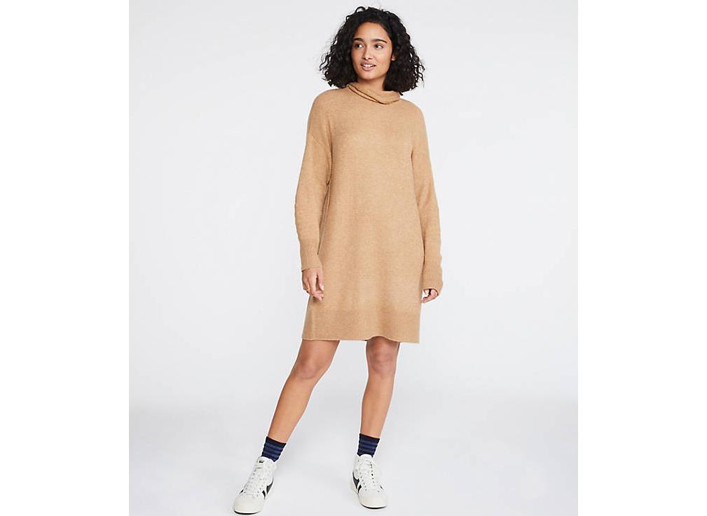 Lou & Grey Turtleneck Sweater Dress