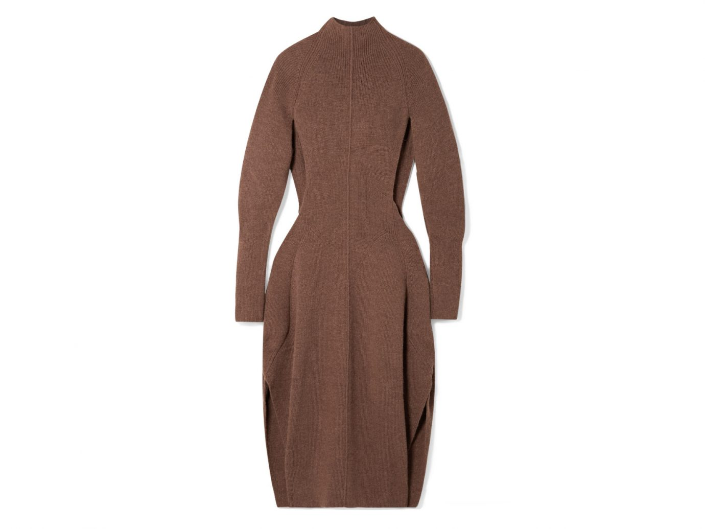CHLOÉ Cutout Knitted Midi Dress