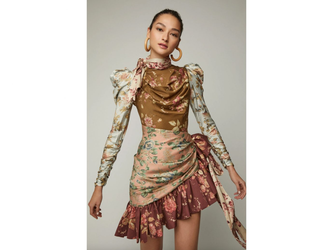 Zimmermann Tempest Silk Floral Mini Dress