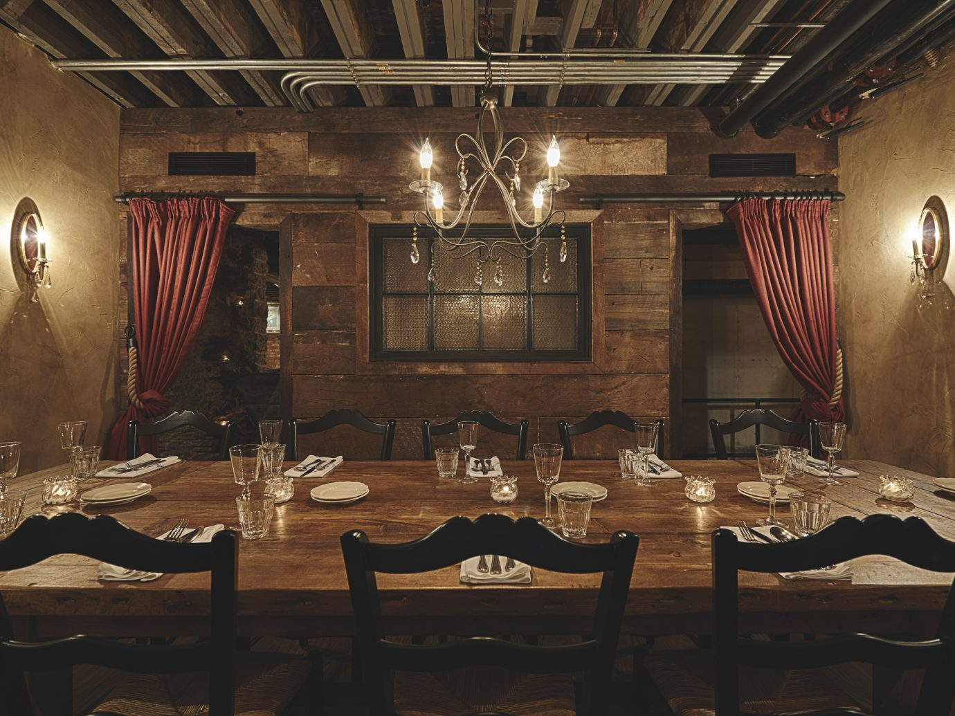 Interior shot of the dining room at Sotto