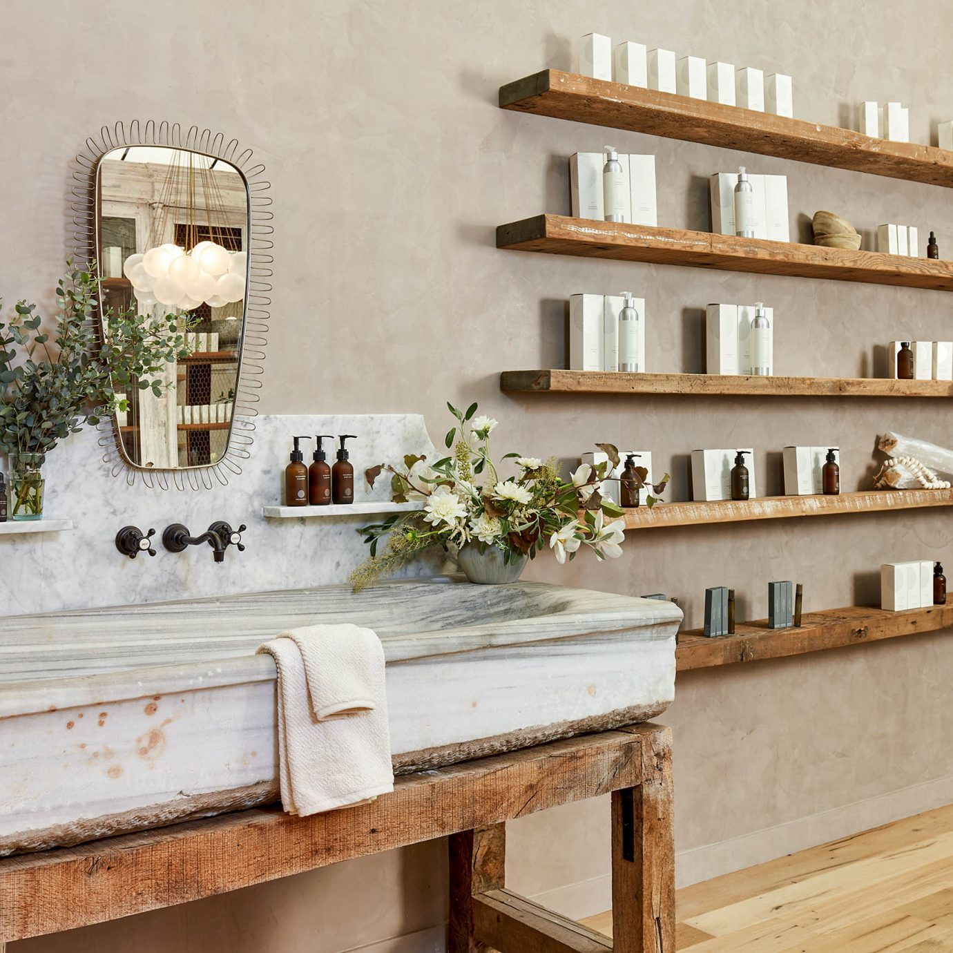 True Botanicals SF store