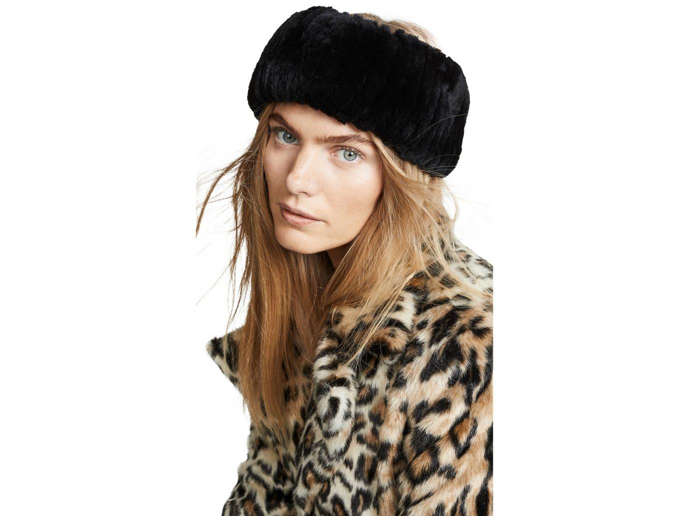 Adrienne Landau Rex Rabbit Fur Headband
