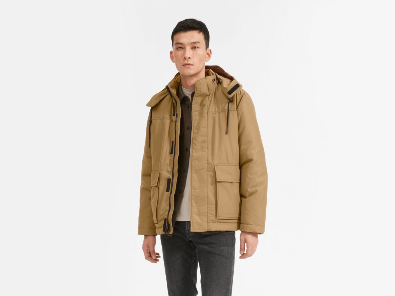 Everlane ReNew Short Parka