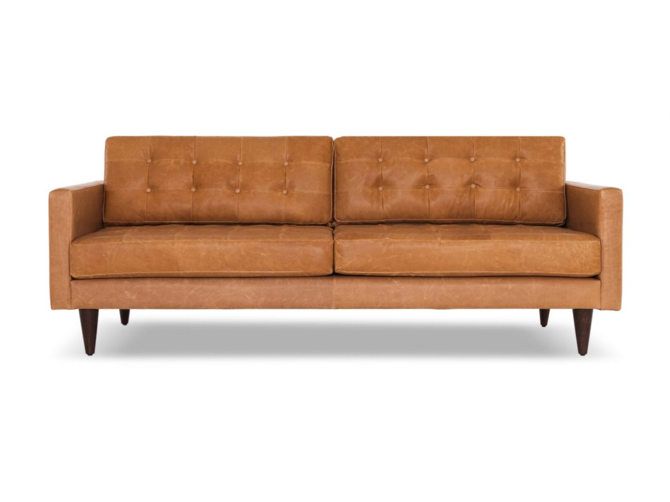 Joybird Eliot Leather Sofa