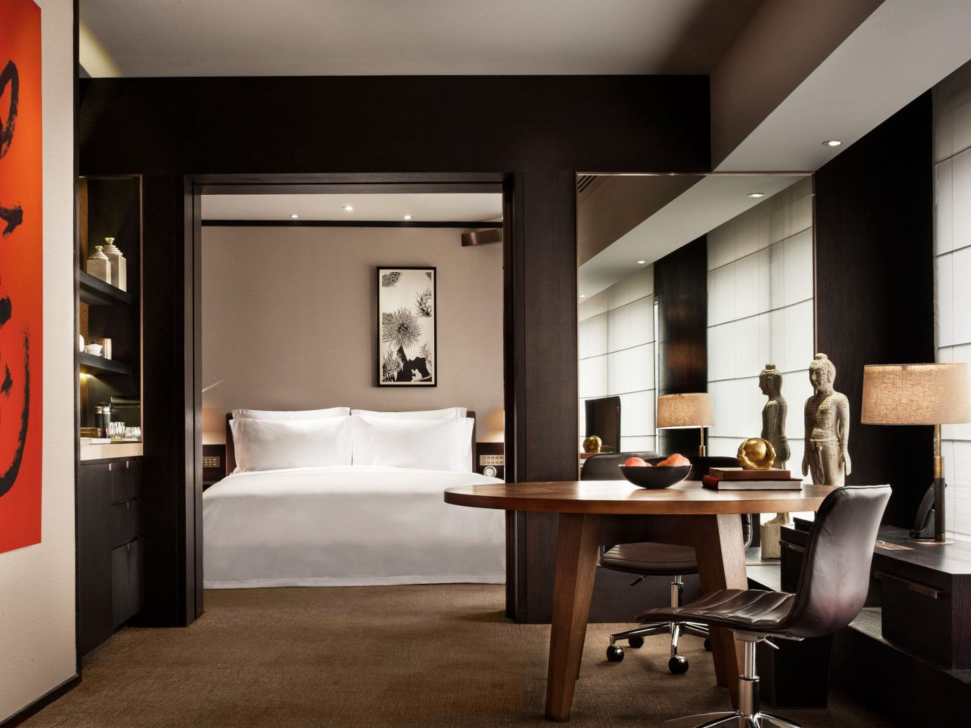 View of a suite at Rosewood Beijing