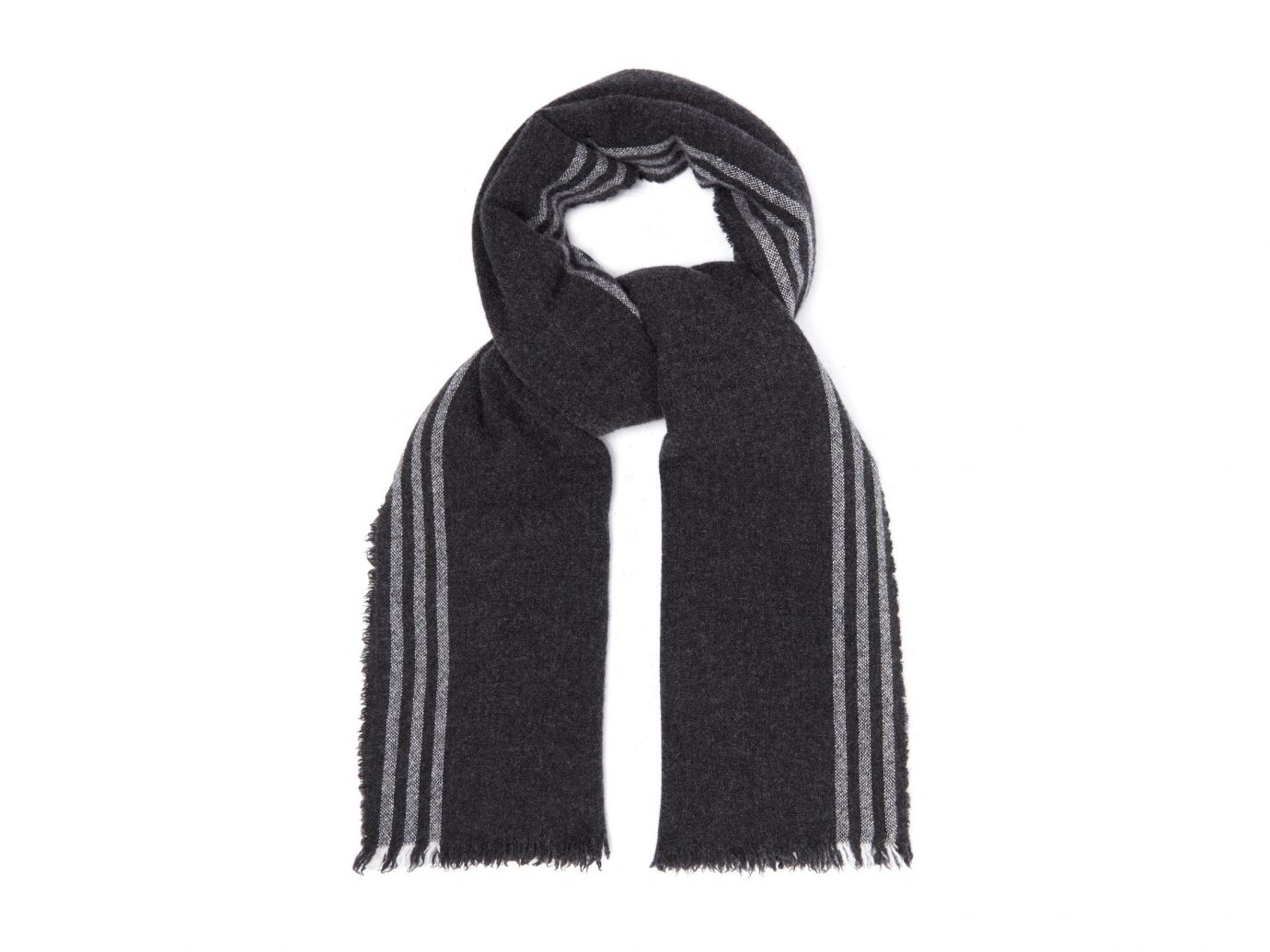 Begg & Co. Beaufort Washed wool and cashmere-blend scarf