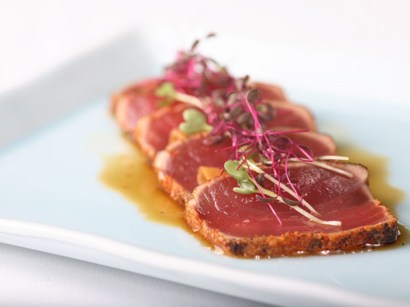 Wild BC Albacore Tuna Tataki. Photo by: Araxi